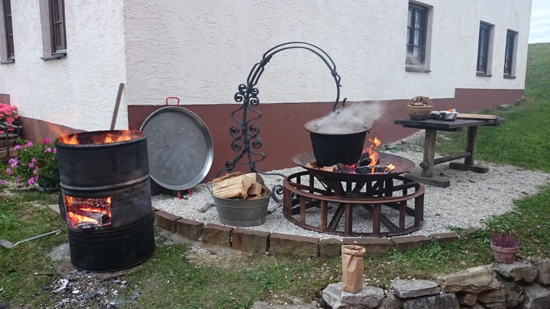 Küchenkult Naturküche unplugged im Gasthof Messnerei Sternberg