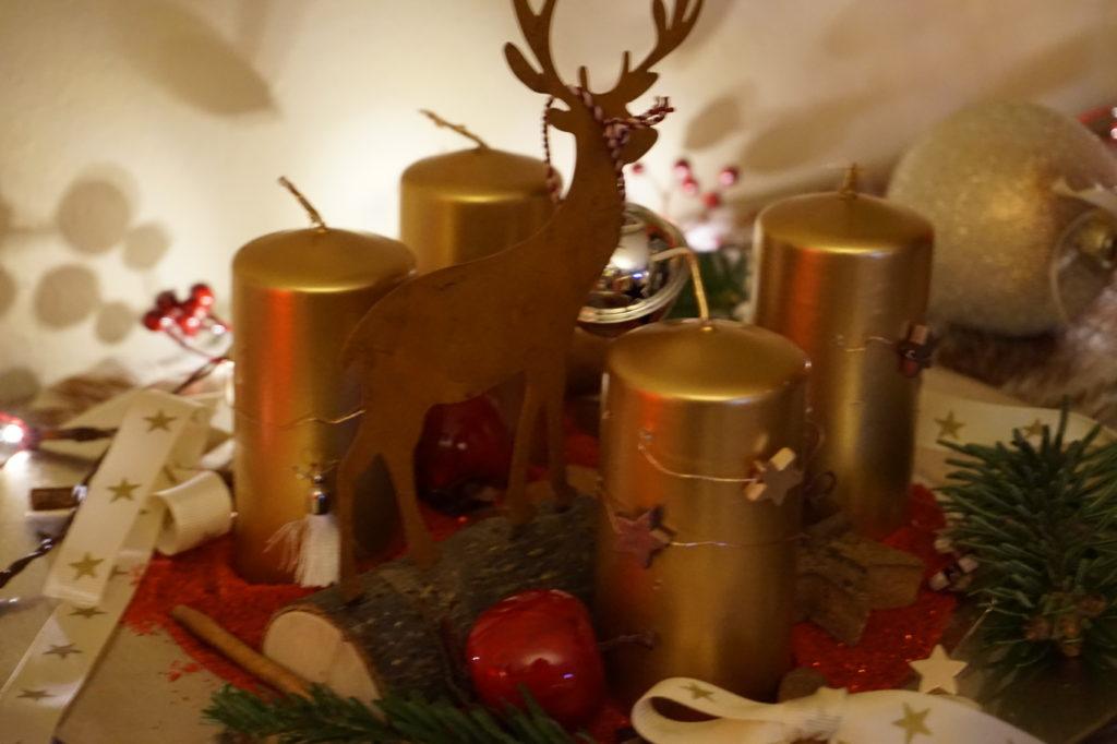 romantische weihnachtsdeko f r zu hause bring glanz nach hause. Black Bedroom Furniture Sets. Home Design Ideas